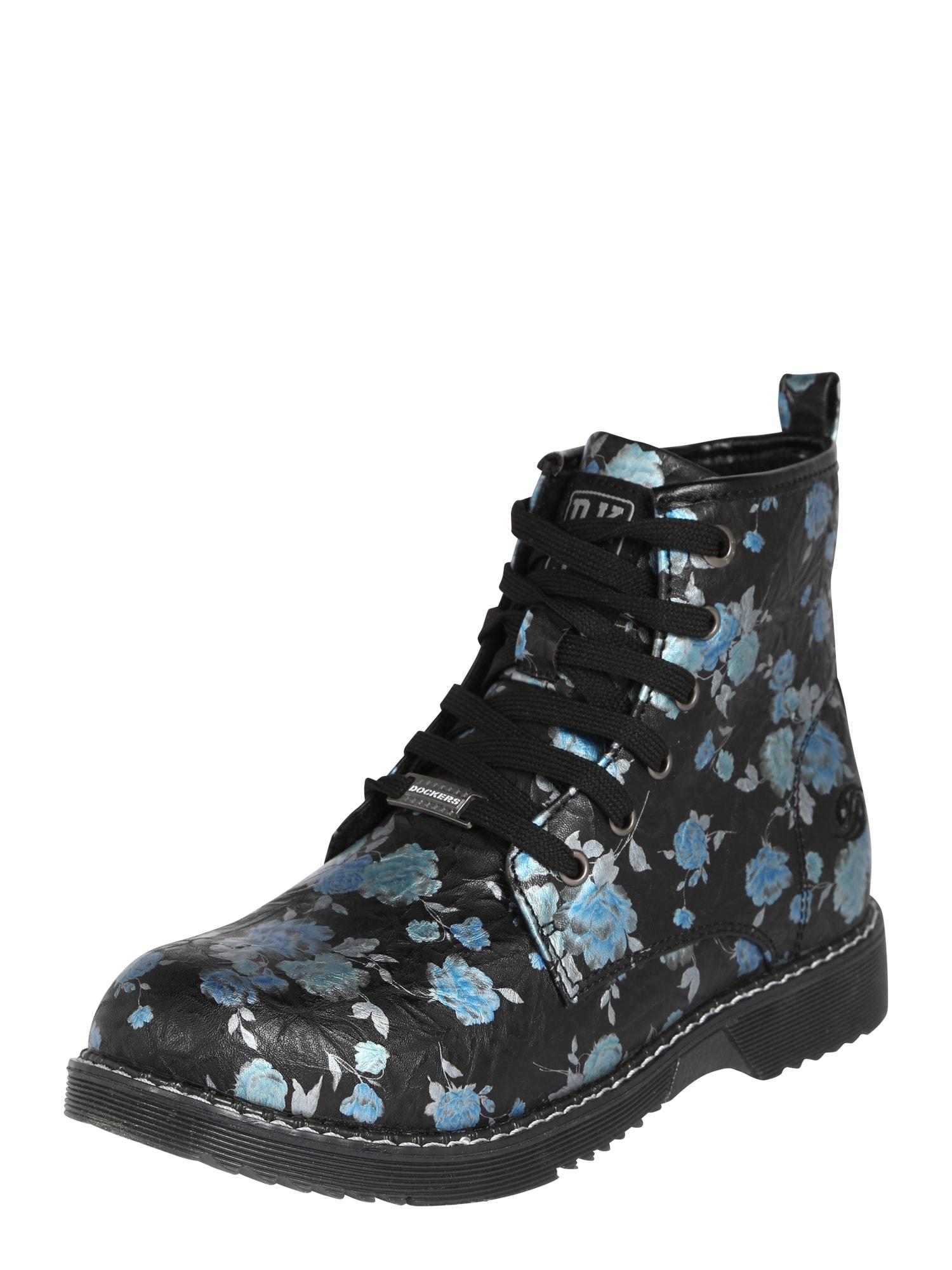 Dockers by Gerli Auliniai batai su kulniuku '43CU738' mėlyna / juoda