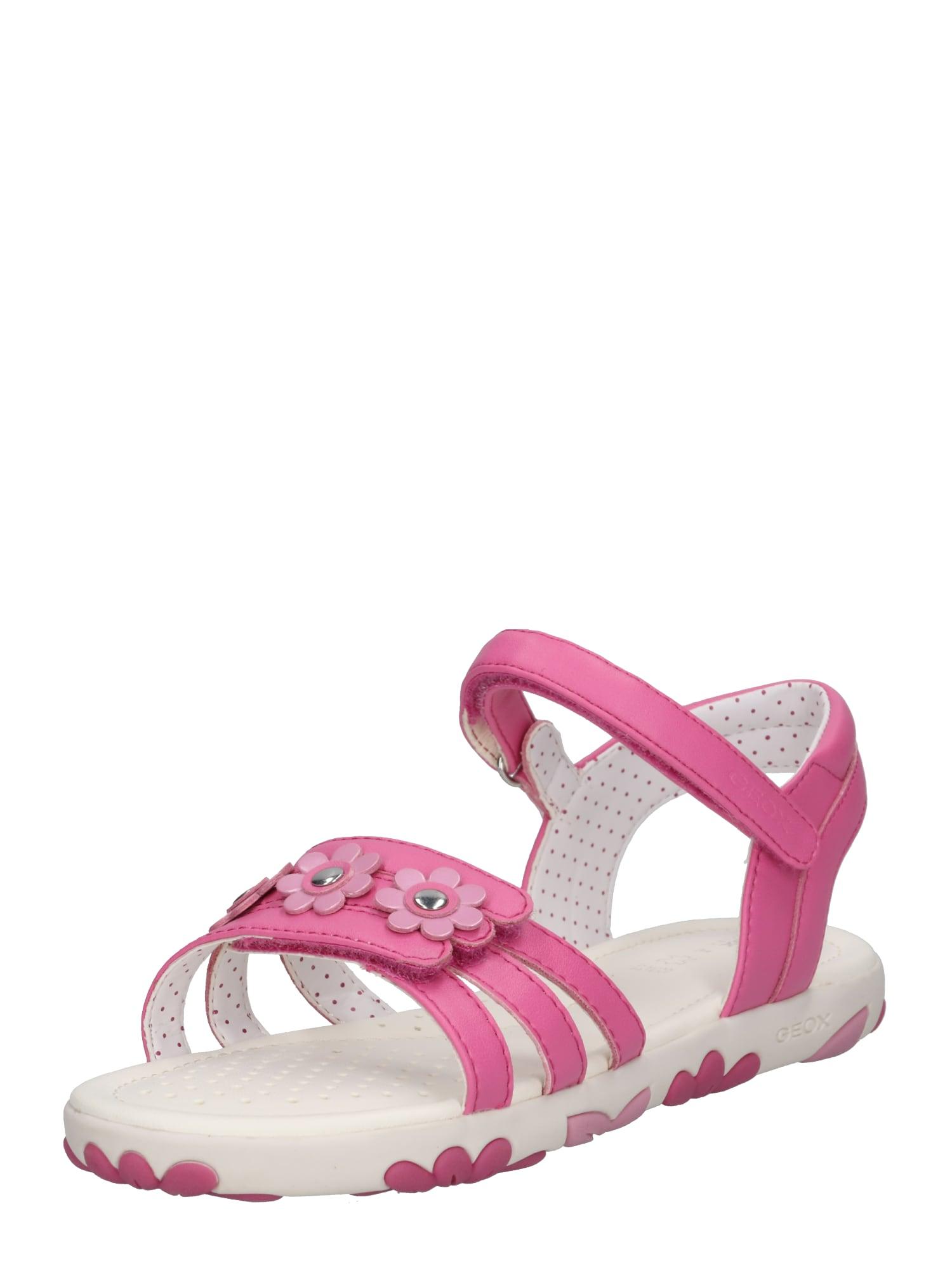 Sandály pink bílá GEOX
