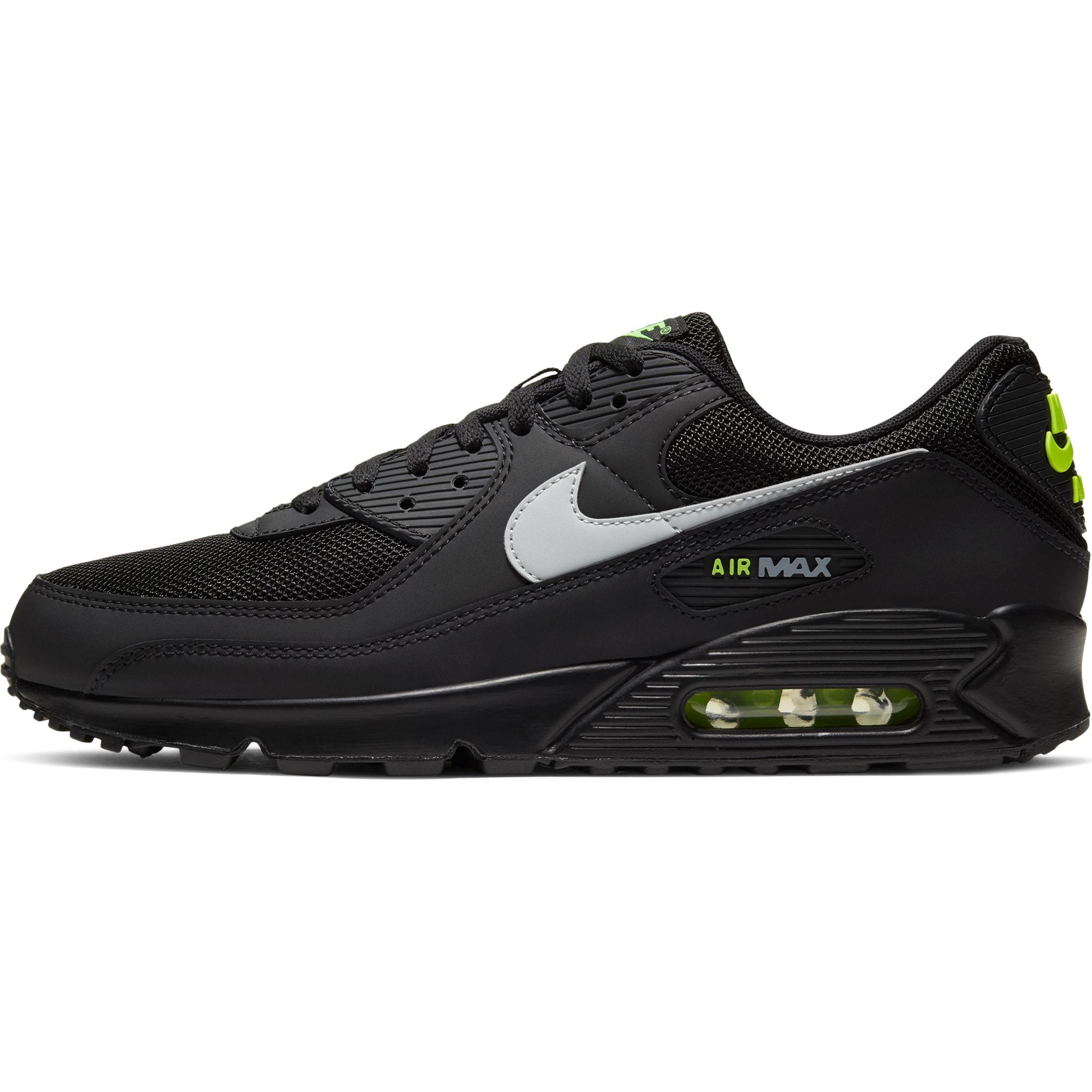 Nike Sportswear Nízke tenisky 'Air Max 90'  čierna / biela