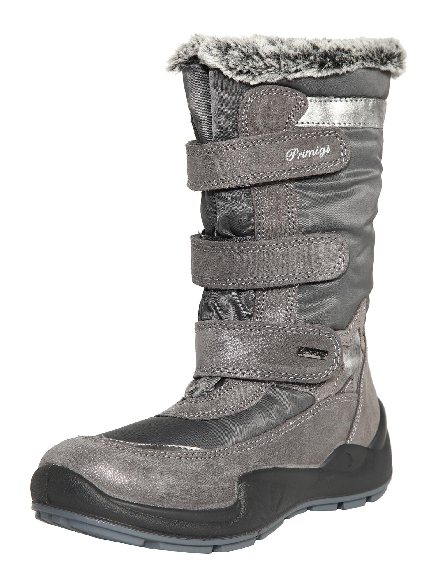 PRIMIGI Sniego batai sidabro pilka / rausvai pilka