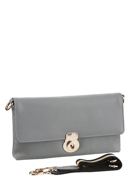 Clutches für Frauen - BRUNO BANANI Clutch grau  - Onlineshop ABOUT YOU
