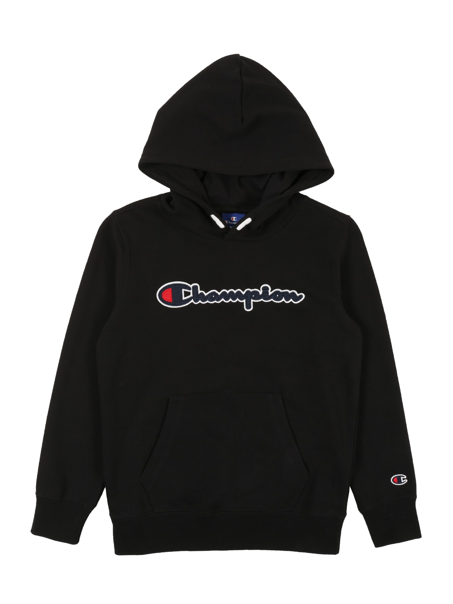 Champion Authentic Athletic Apparel Megztinis be užsegimo 'Hooded Sweatshirt' juoda