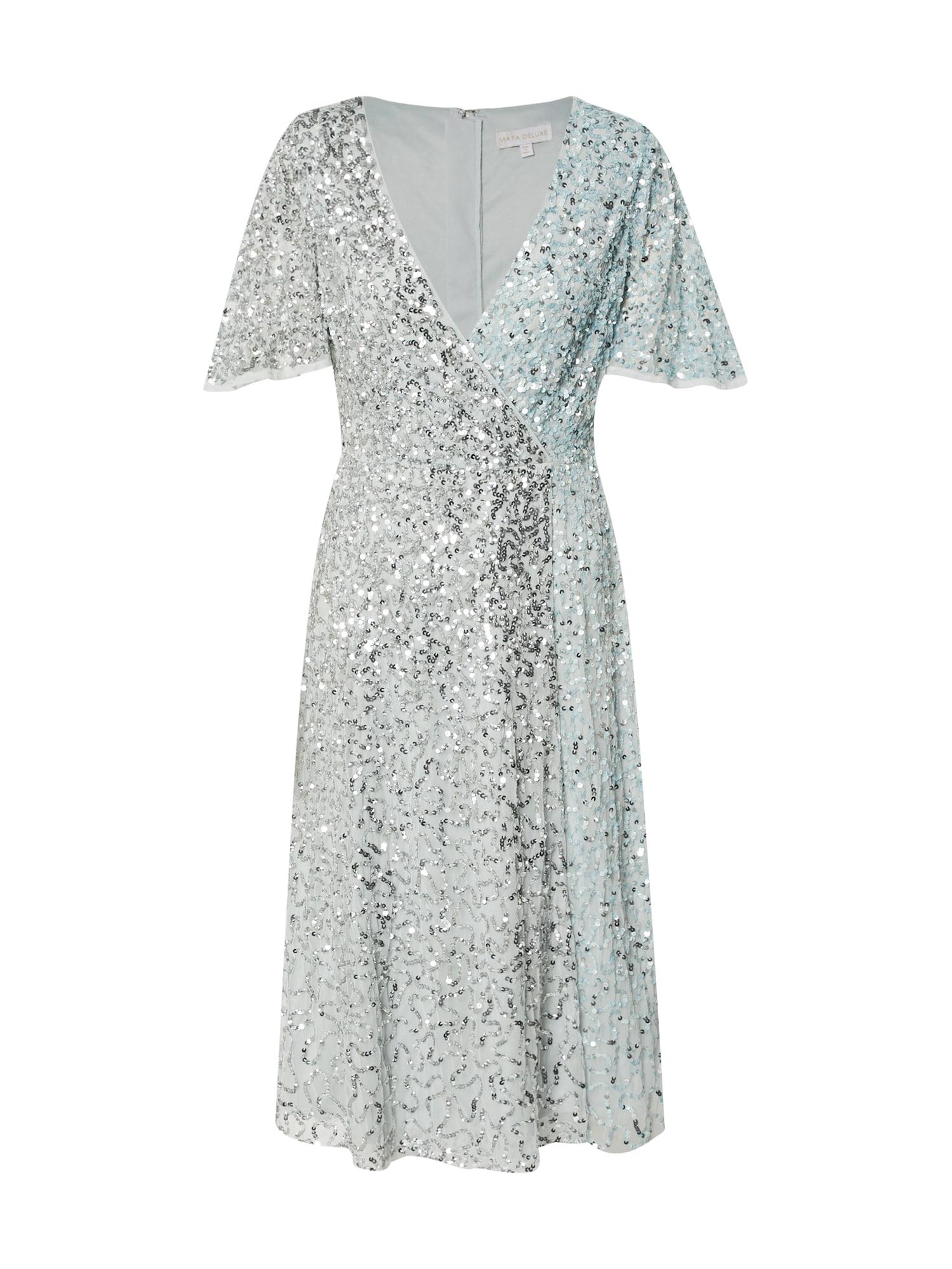 Maya Deluxe Vakarinė suknelė šviesiai mėlyna