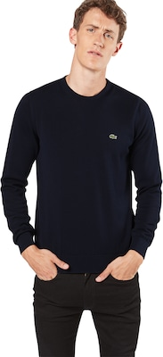 LACOSTE Pullover mit Label-Patch