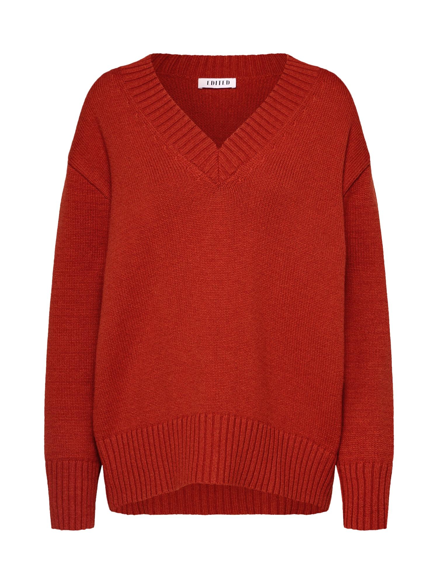 EDITED Megztinis 'Juno' rūdžių raudona