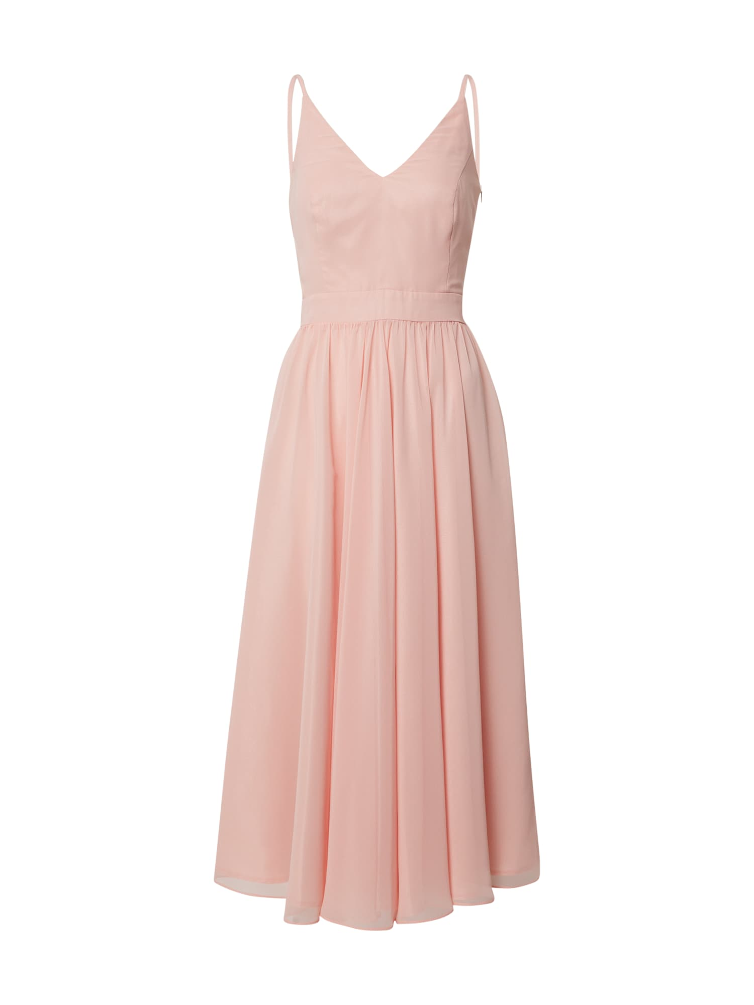 SWING Kokteilinė suknelė koralų splava / rožių spalva
