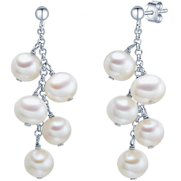 Ohrringe für Frauen - Valero Pearls Silberohrstecker silber  - Onlineshop ABOUT YOU