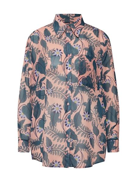 Oberteile für Frauen - GLAMOROUS Bluse taubenblau rosé  - Onlineshop ABOUT YOU