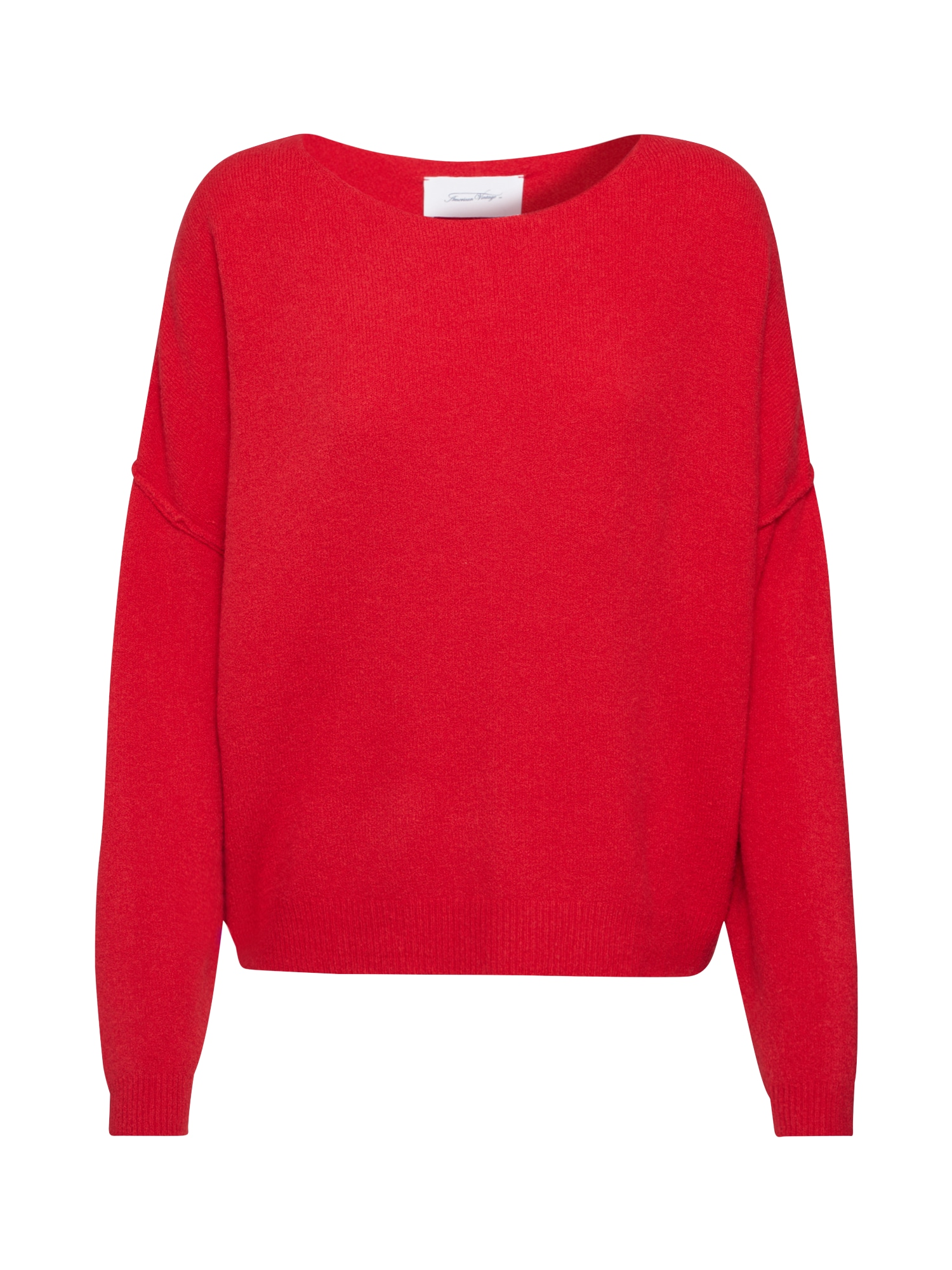 AMERICAN VINTAGE Megztinis 'DAMSVILLE' raudona