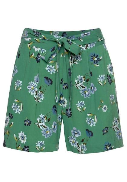 Hosen für Frauen - ANISTON Aniston by BAUR Shorts grün  - Onlineshop ABOUT YOU