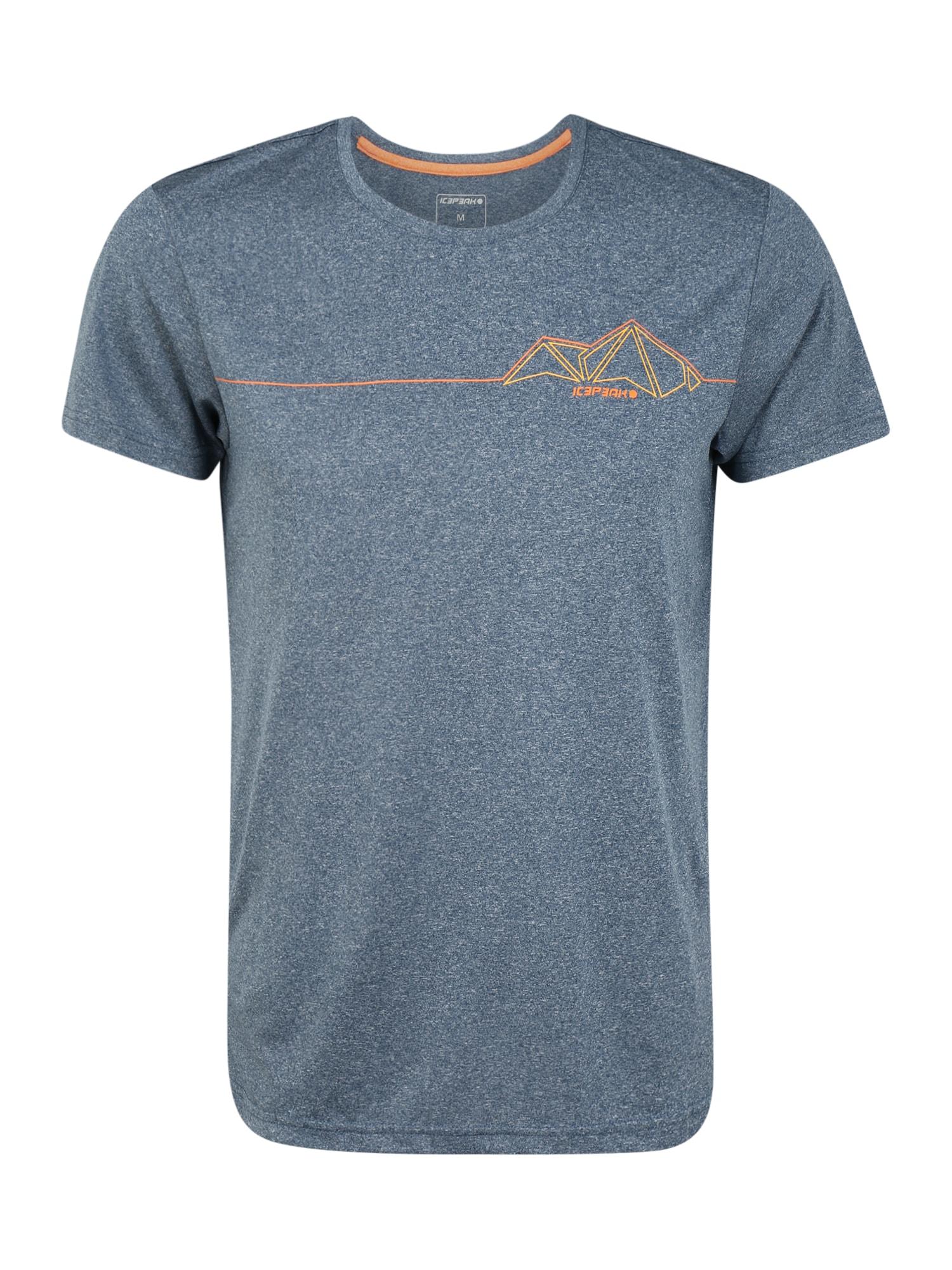 ICEPEAK Sportiniai marškinėliai 'BANCROFT' tamsiai mėlyna