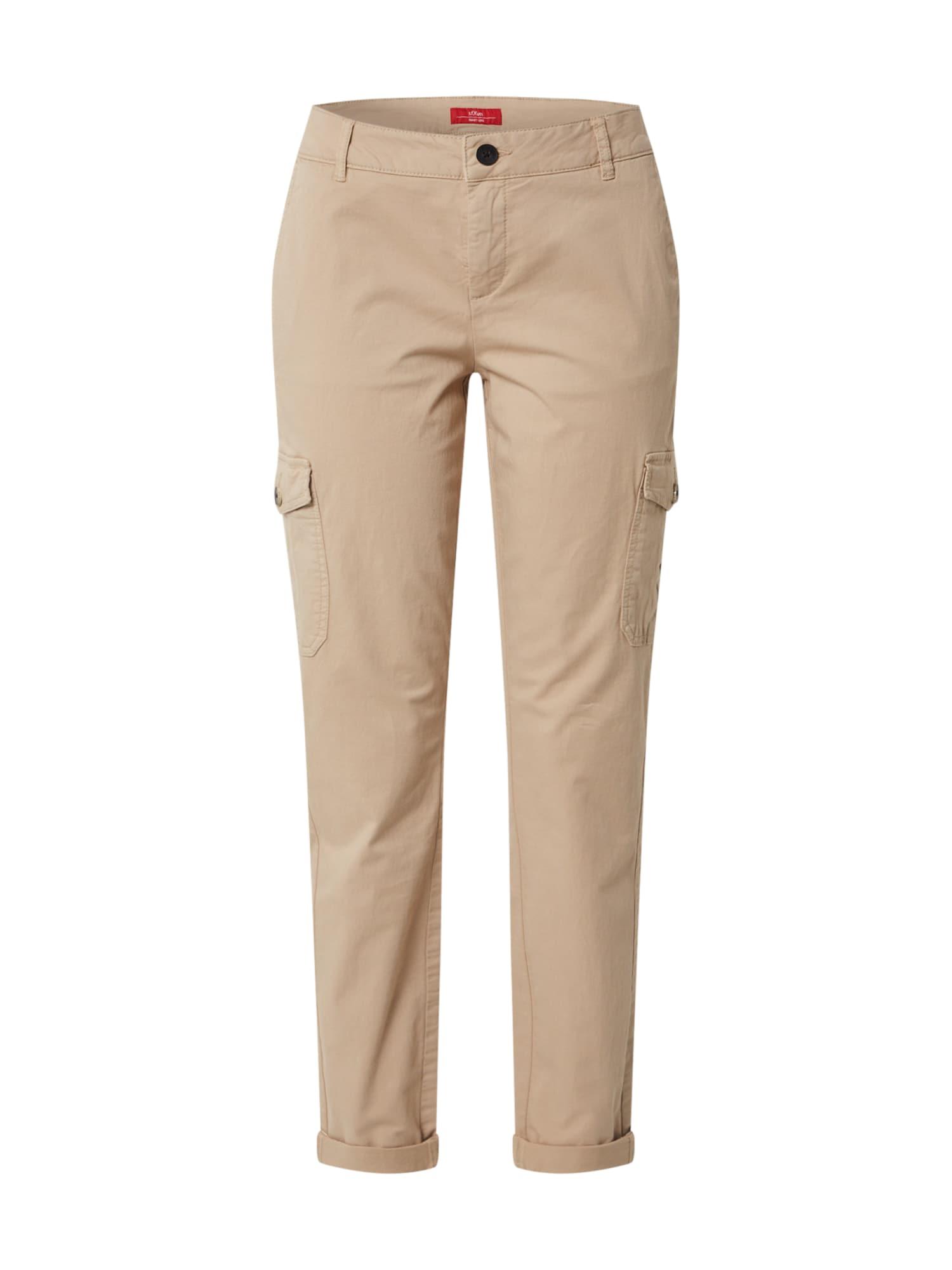 s.Oliver Chino kalhoty  světle hnědá