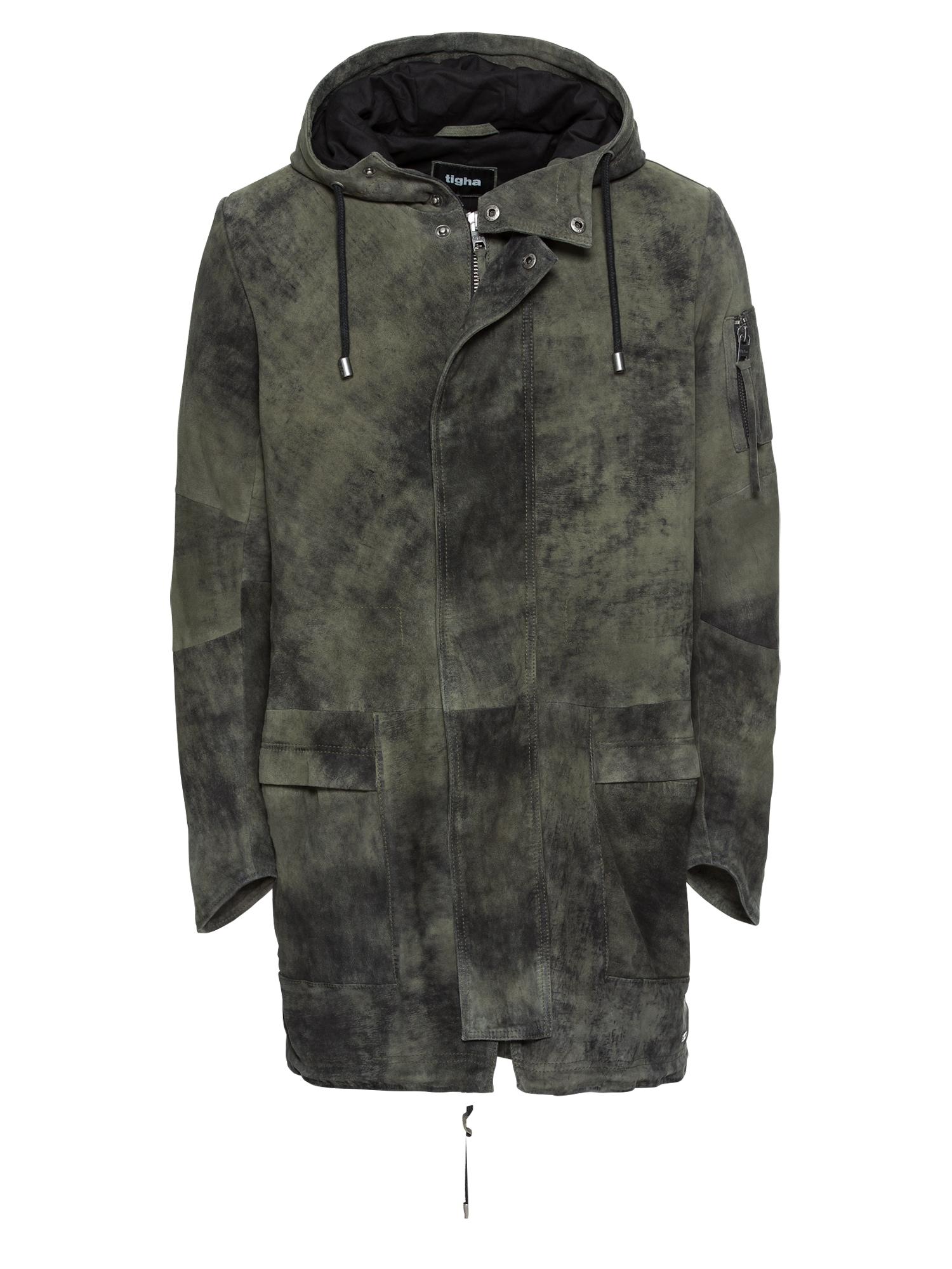 Přechodný kabát Musa olivová Tigha