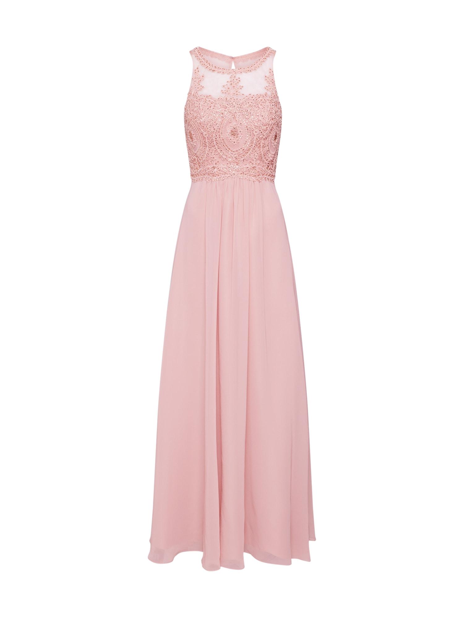 Laona Vakarinė suknelė rausvai violetinė spalva
