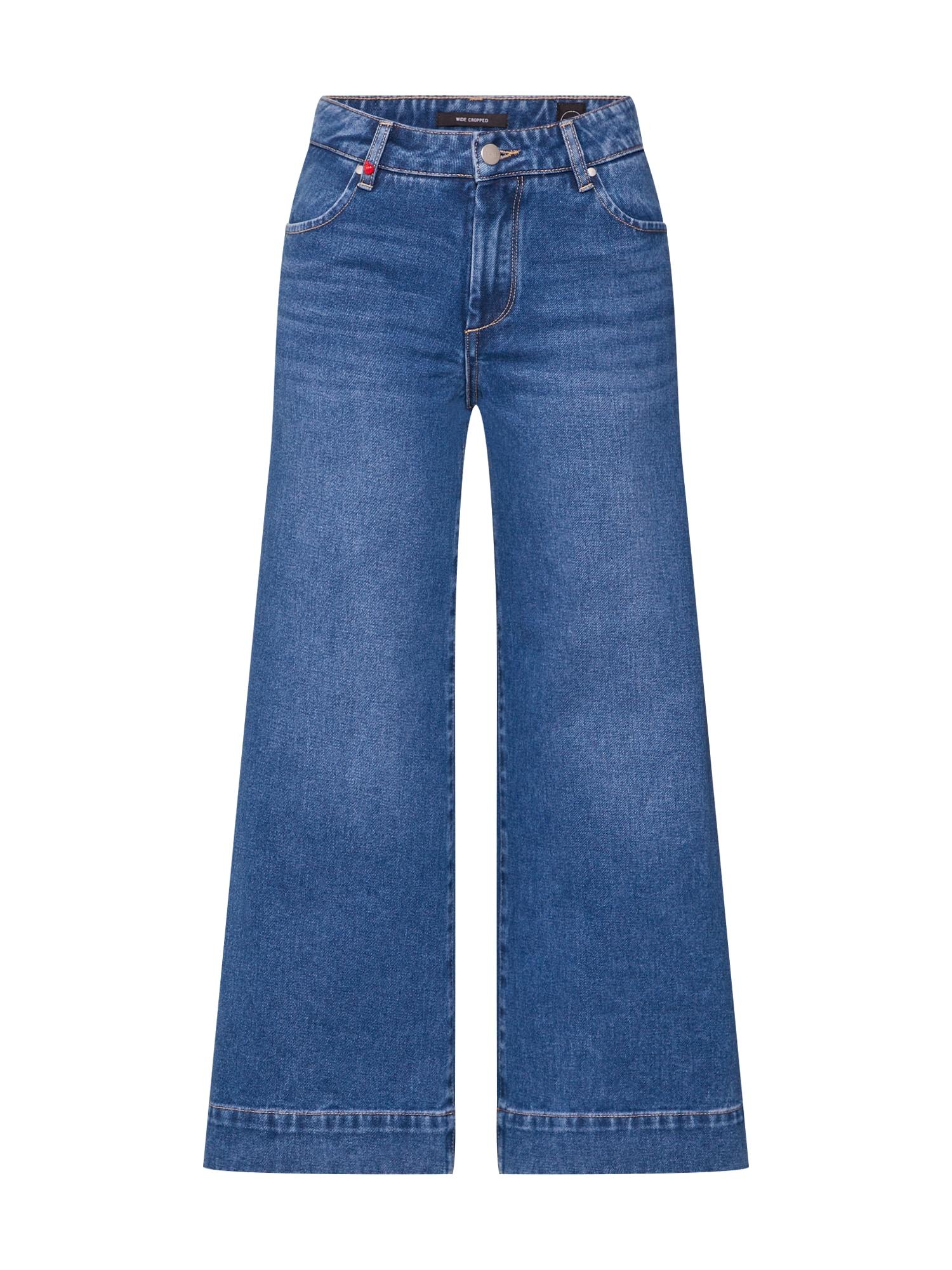 F.A.M. Džinsai 'FANNY' tamsiai (džinso) mėlyna