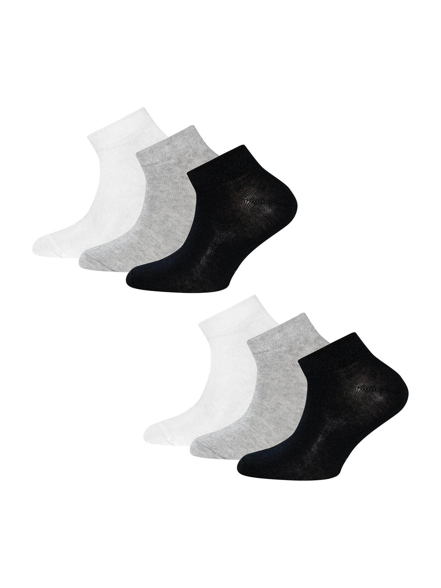 EWERS Ponožky  sivá melírovaná / čierna / biela