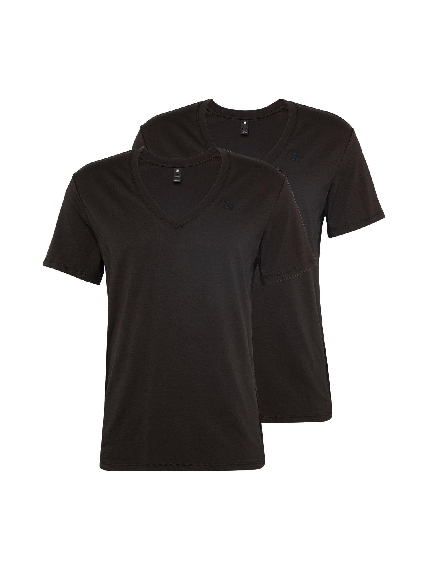 G-Star RAW Marškinėliai ruda