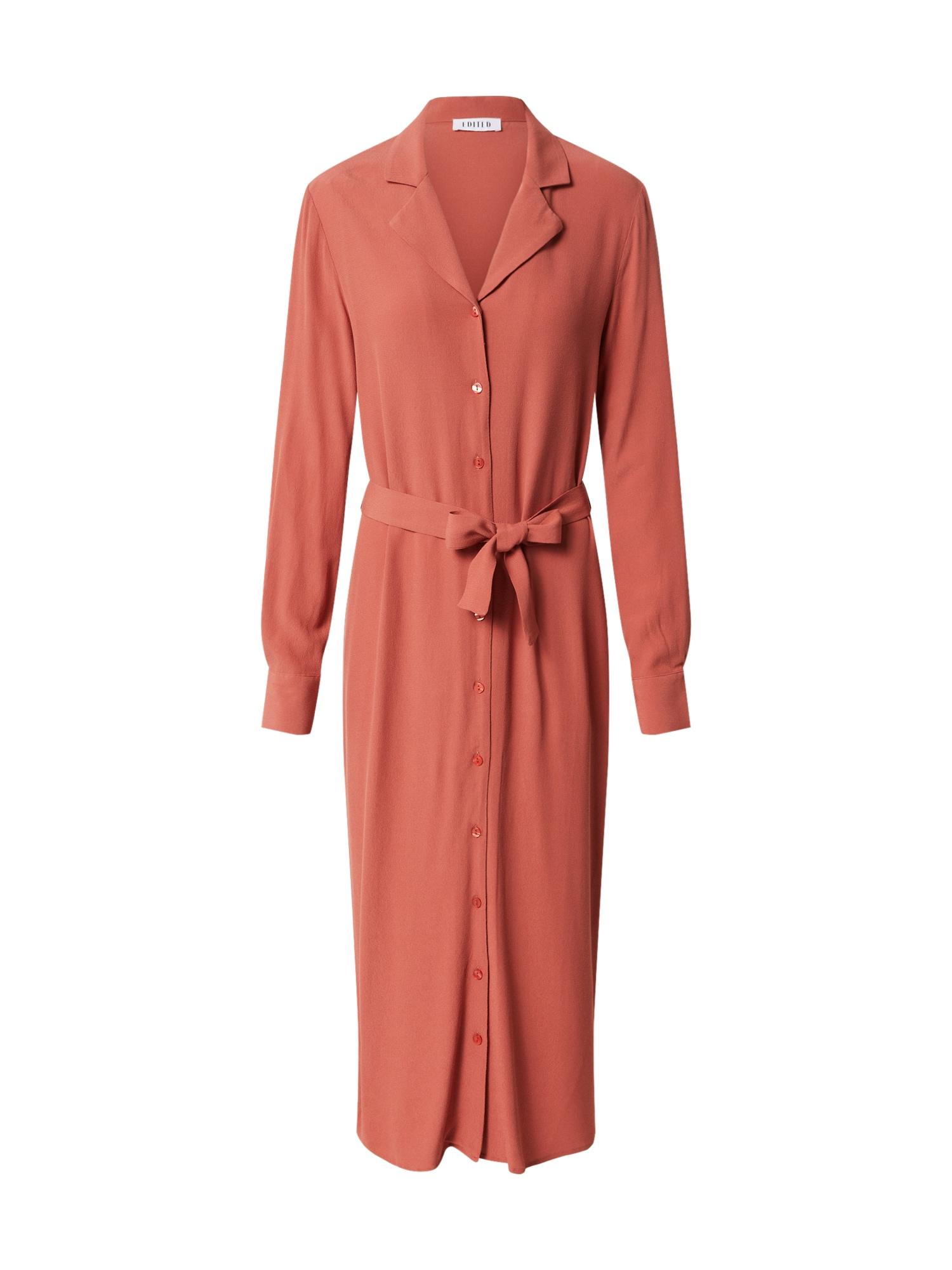 EDITED Palaidinės tipo suknelė 'Christin' oranžinė-raudona