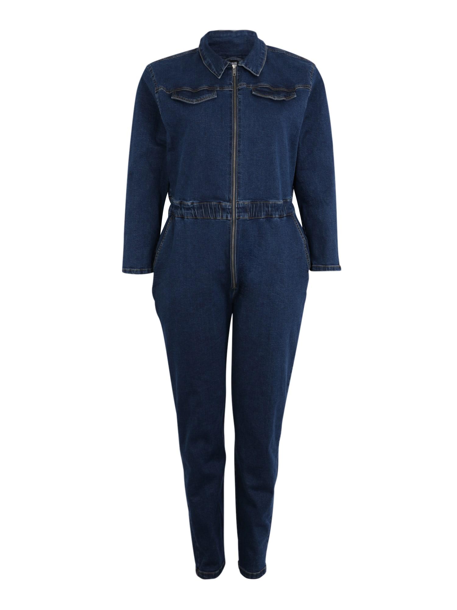 Urban Classics Curvy Kombinezono tipo kostiumas tamsiai mėlyna