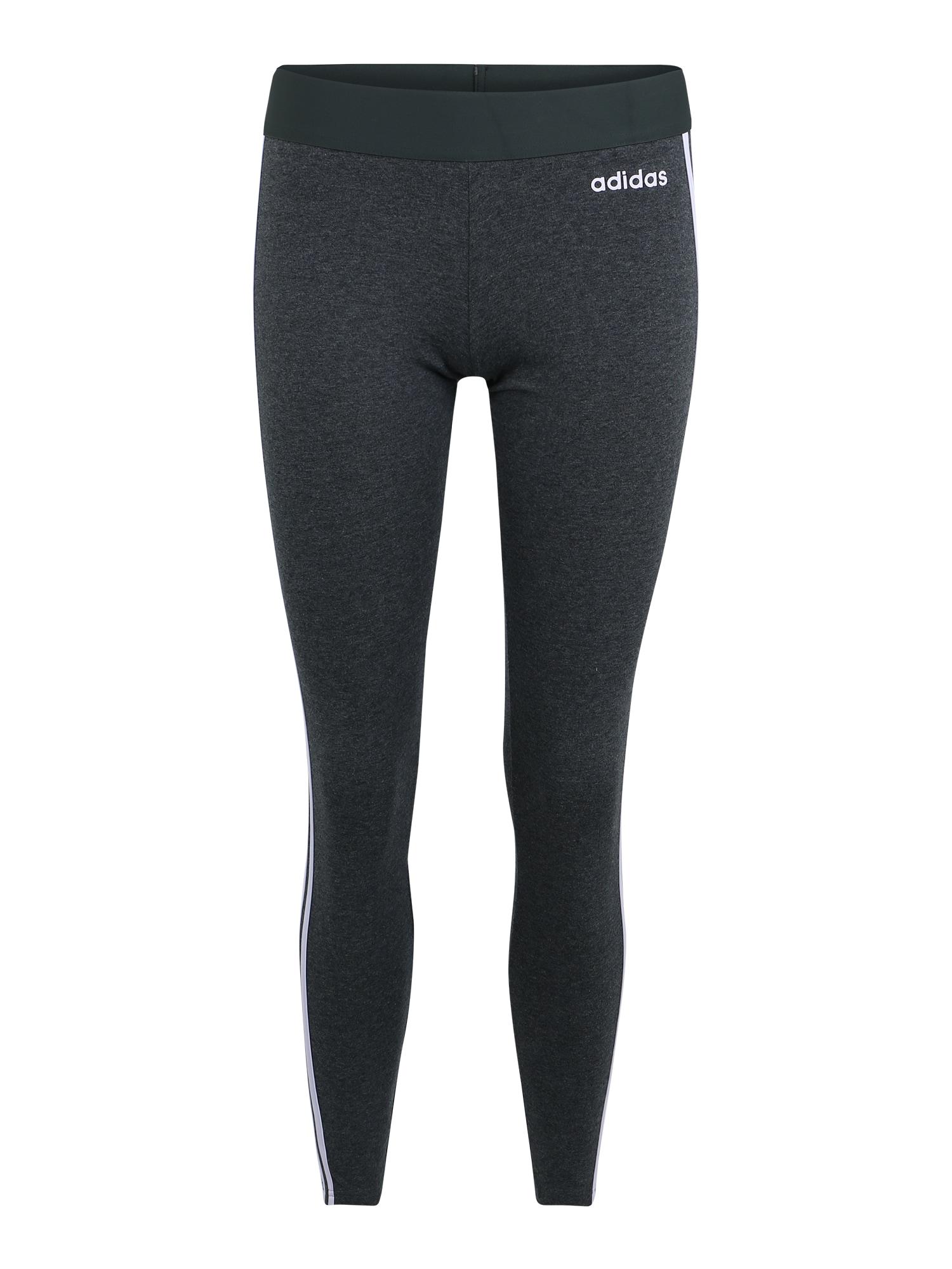ADIDAS PERFORMANCE Sportinės kelnės 'W E 3S' tamsiai pilka