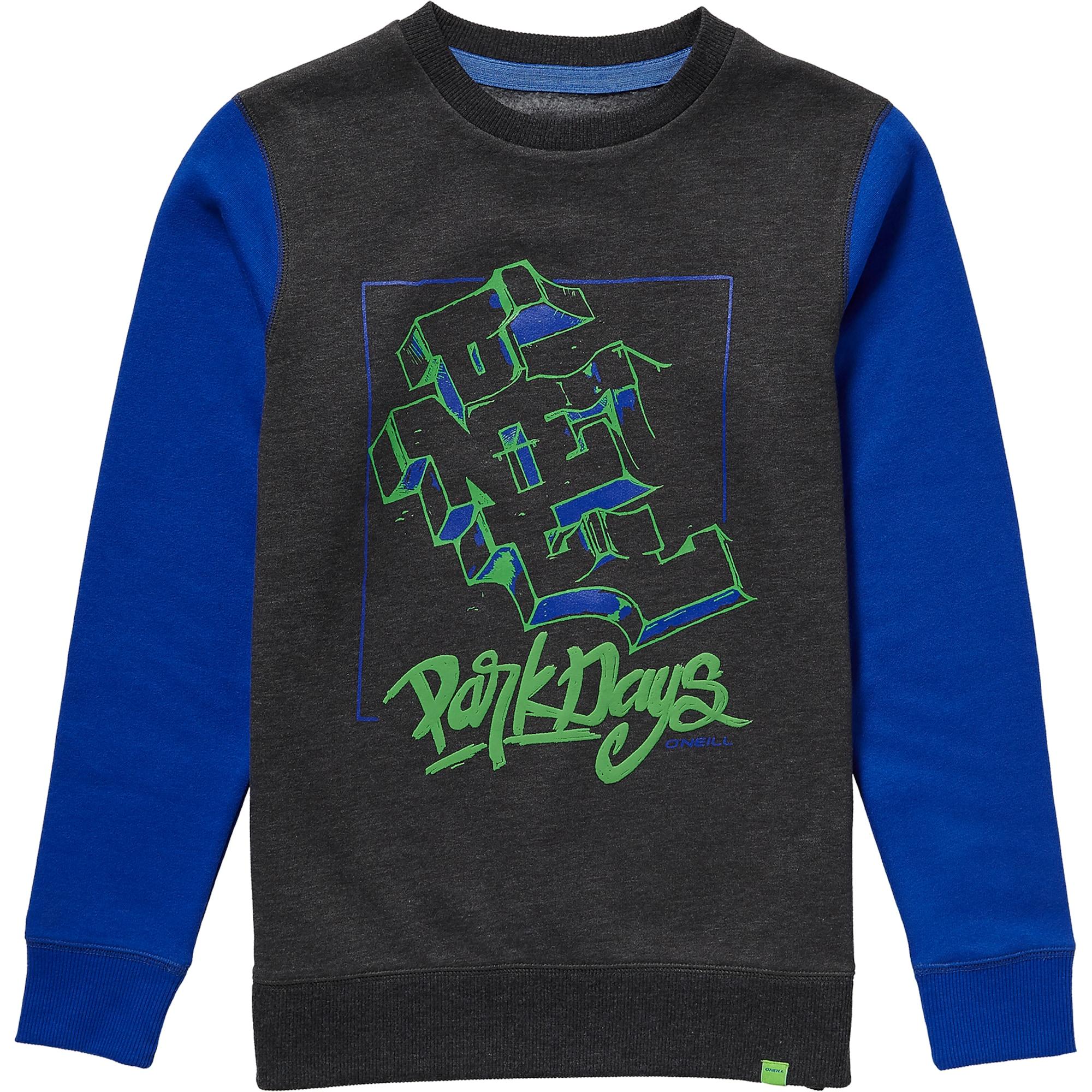 O'NEILL Džemperis 'LB PARK DAYS SWEATSHIRT' mėlyna / tamsiai pilka