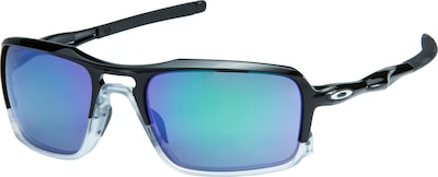OAKLEY Triggerman polished black jade iridium Sportbrille