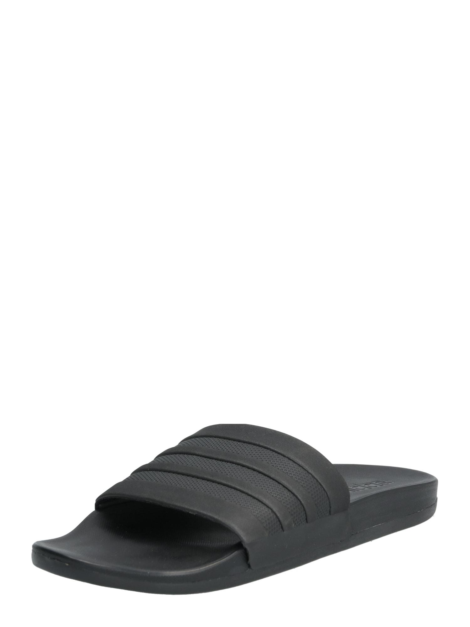 ADIDAS PERFORMANCE Sandalai / maudymosi batai 'Adilette CF+' juoda