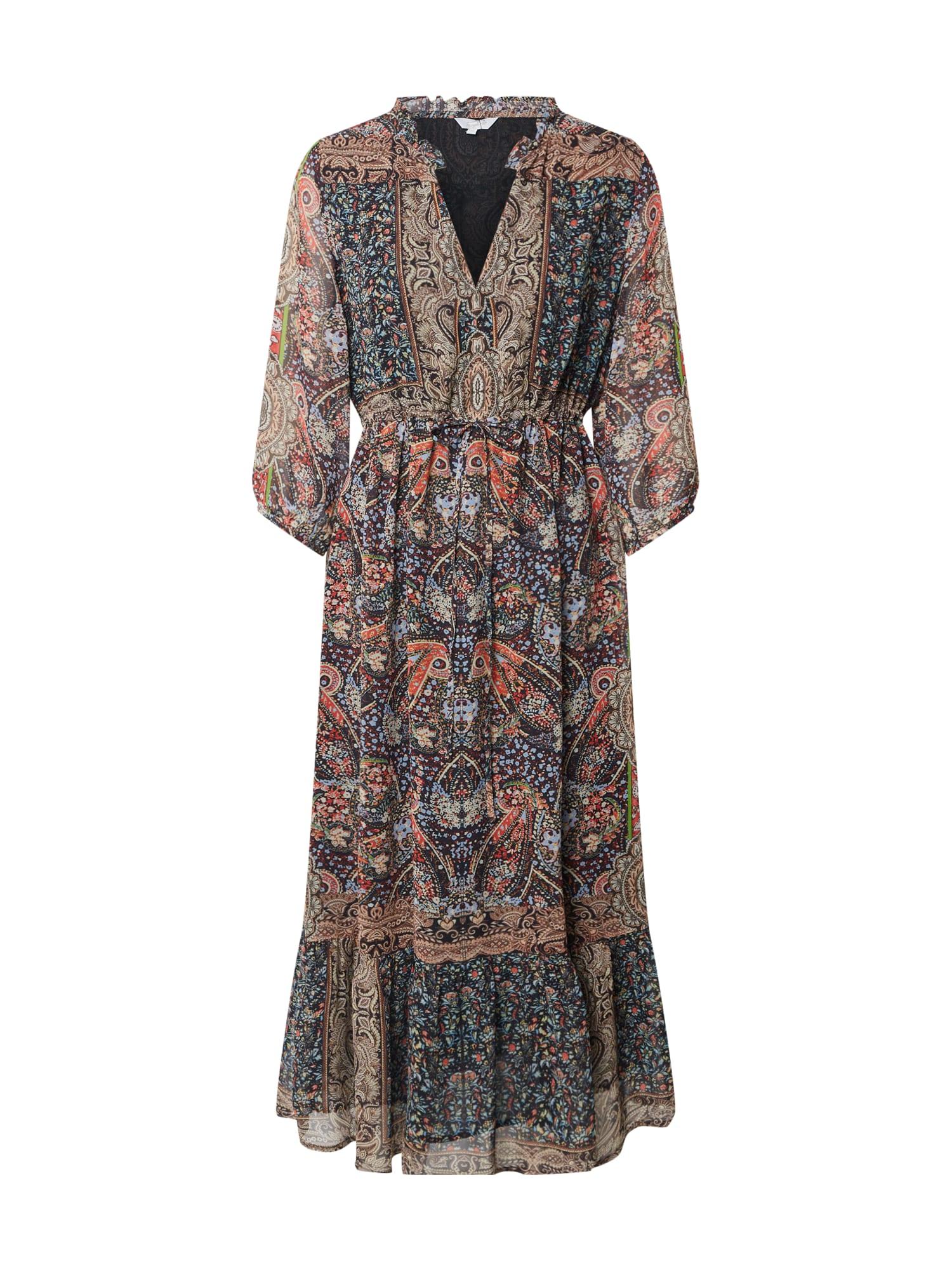 Frogbox Palaidinės tipo suknelė mišrios spalvos / juoda