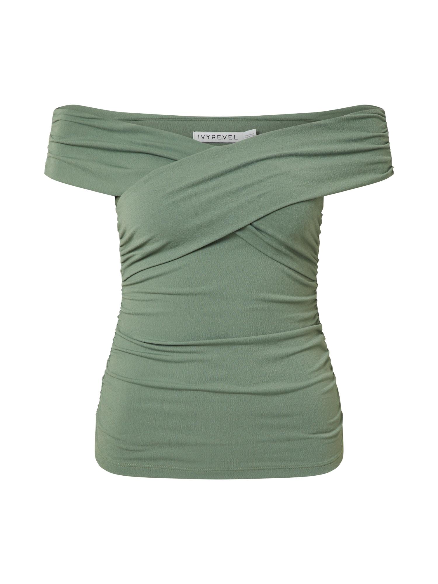 IVYREVEL Tričko  zelená
