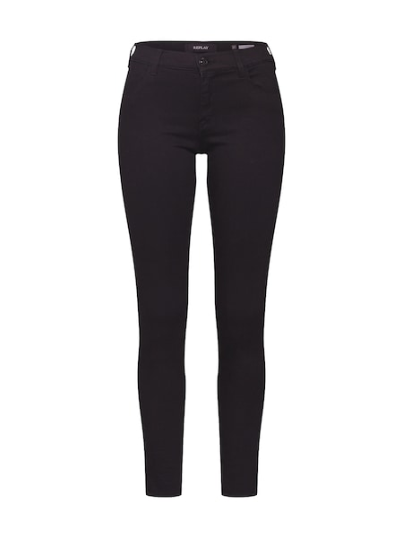Hosen für Frauen - Jeans 'Stella' › Replay › black denim  - Onlineshop ABOUT YOU
