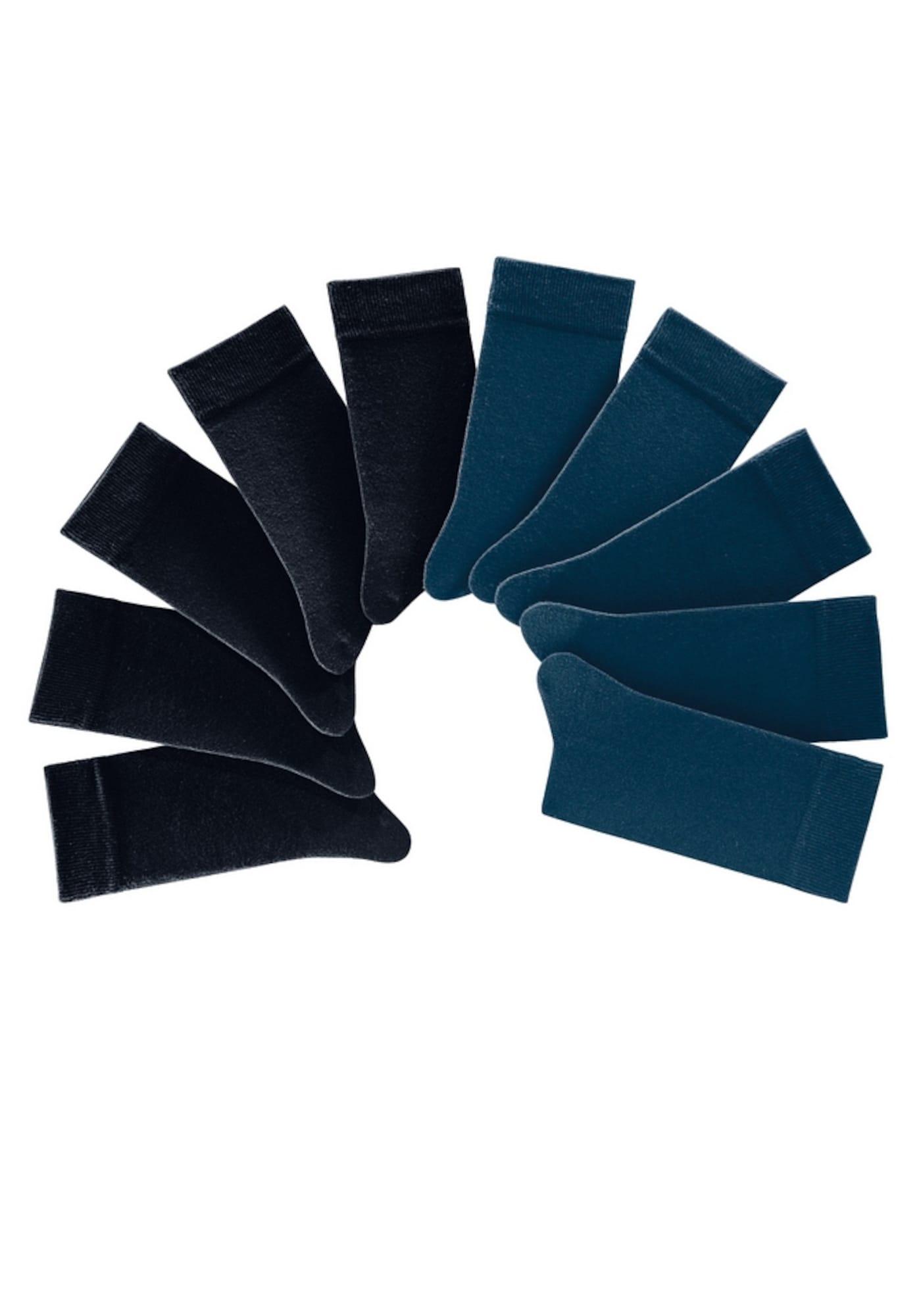 H.I.S Kojinės mėlyna / juoda