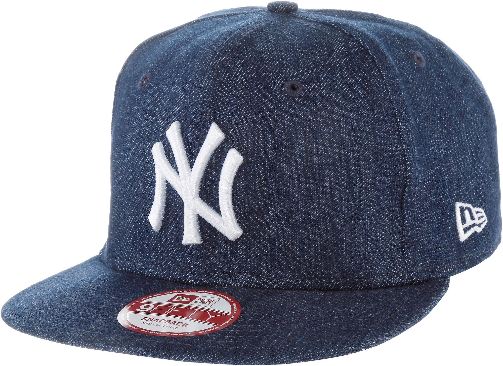 NEW ERA Kepurė '9FIFTY League Essential New York Yankees' tamsiai (džinso) mėlyna