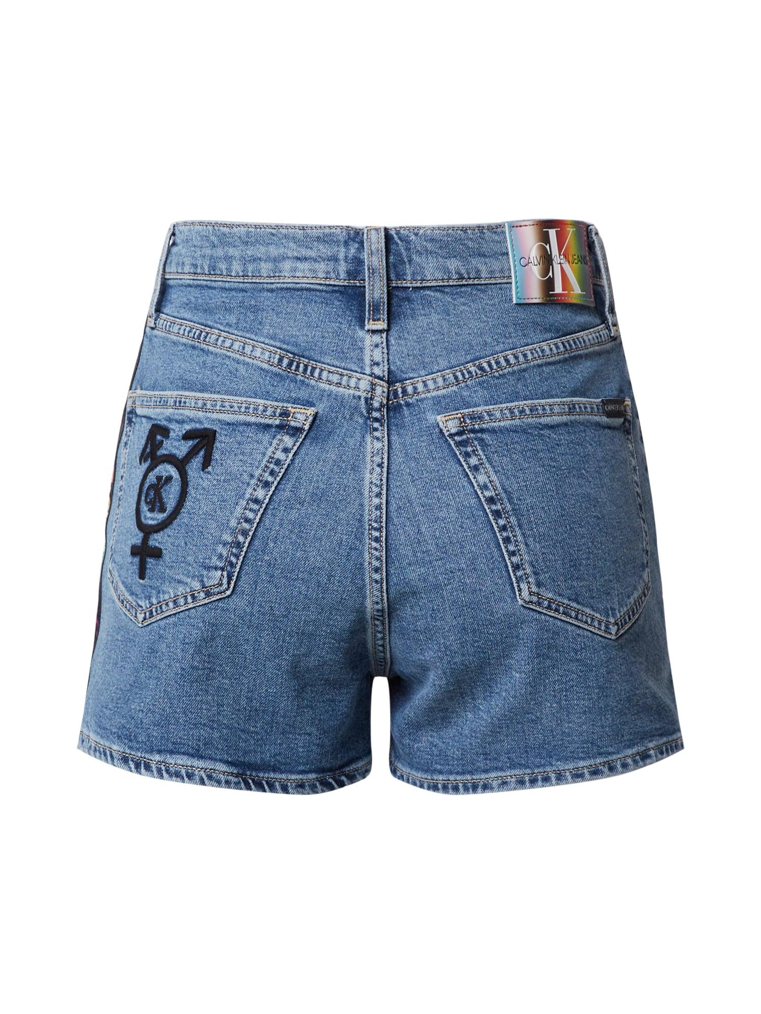 Calvin Klein Jeans Jeans 'HIGH RISE SHORT'  blå denim