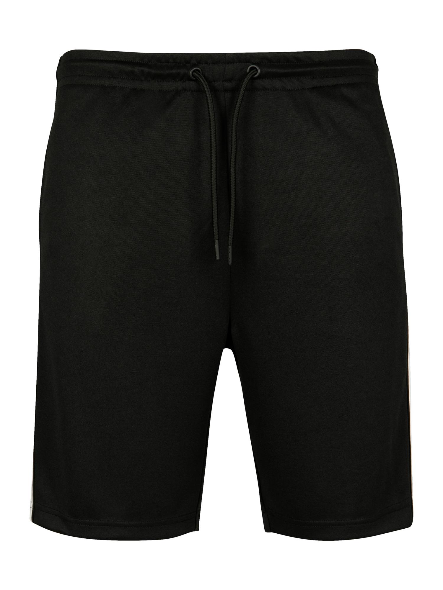 Urban Classics Kelnės pilka / juoda