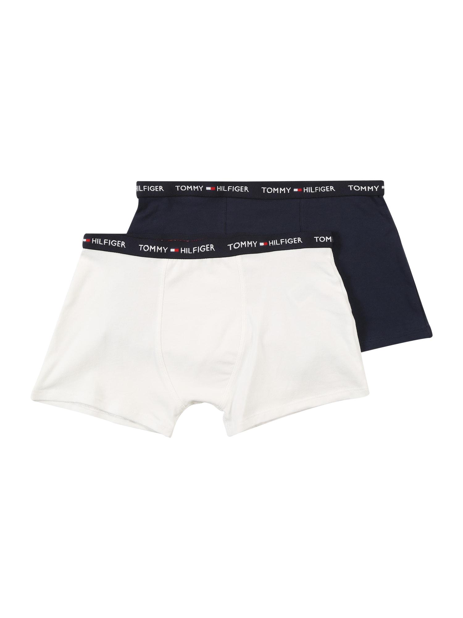 Tommy Hilfiger Underwear Apatinės kelnaitės tamsiai mėlyna / balta