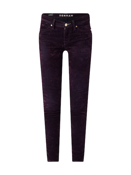 Hosen für Frauen - Jeans › Denham › aubergine  - Onlineshop ABOUT YOU