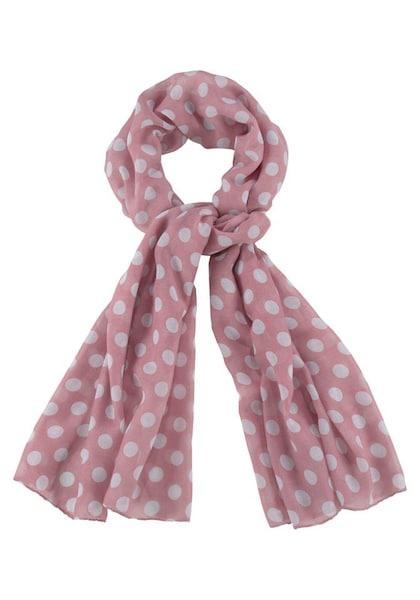 Schals für Frauen - J. Jayz Modeschal rosé weiß  - Onlineshop ABOUT YOU