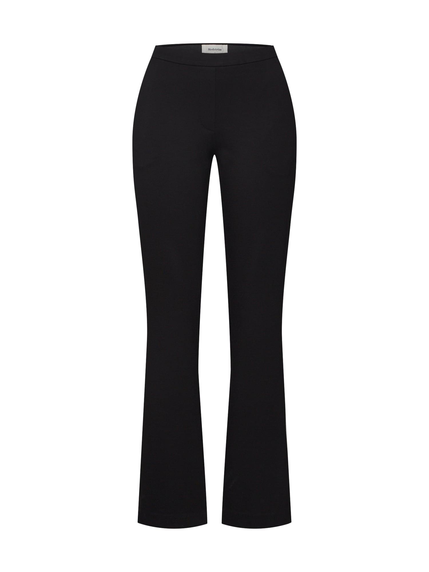 modström Kelnės 'Tanny Flare Pants' juoda