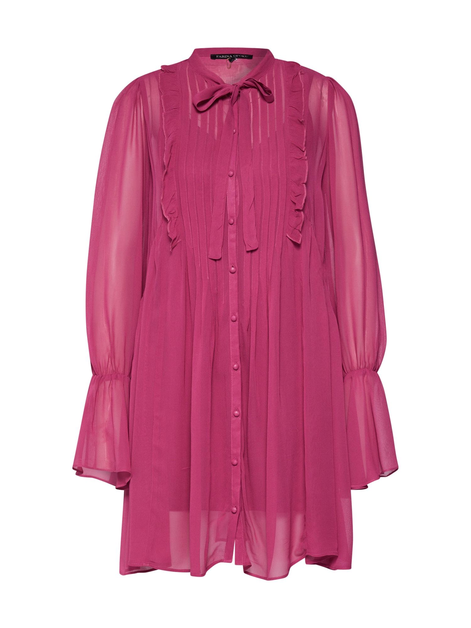 Farina Opoku Palaidinės tipo suknelė tamsiai rožinė