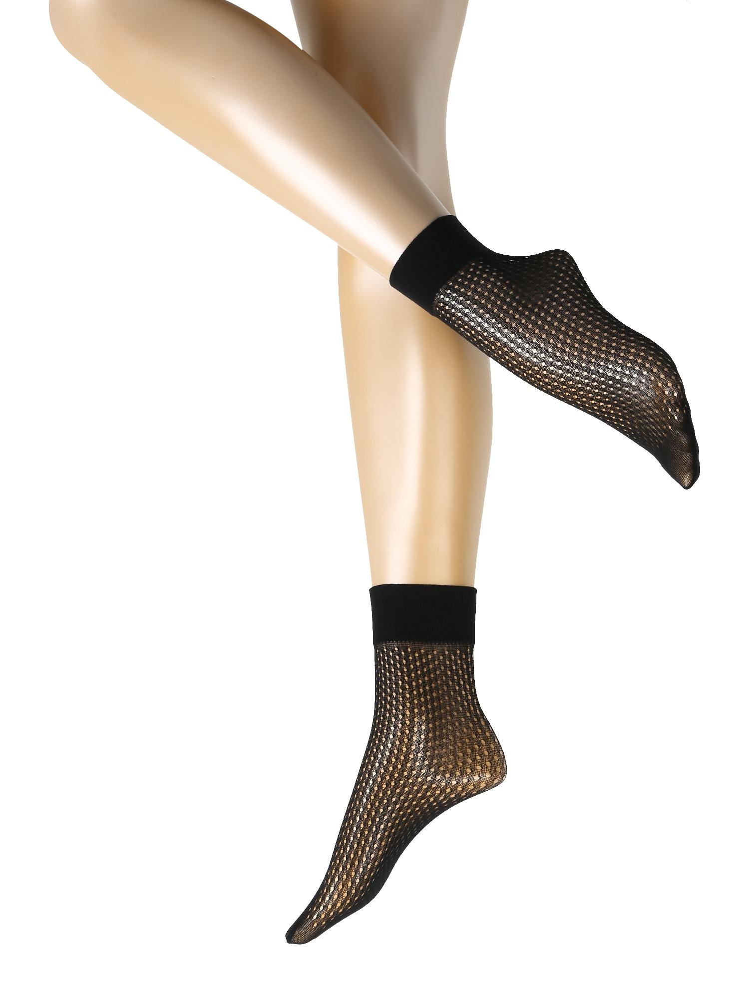 Wolford Madingos prisegamos kojinės 'Lauren' juoda