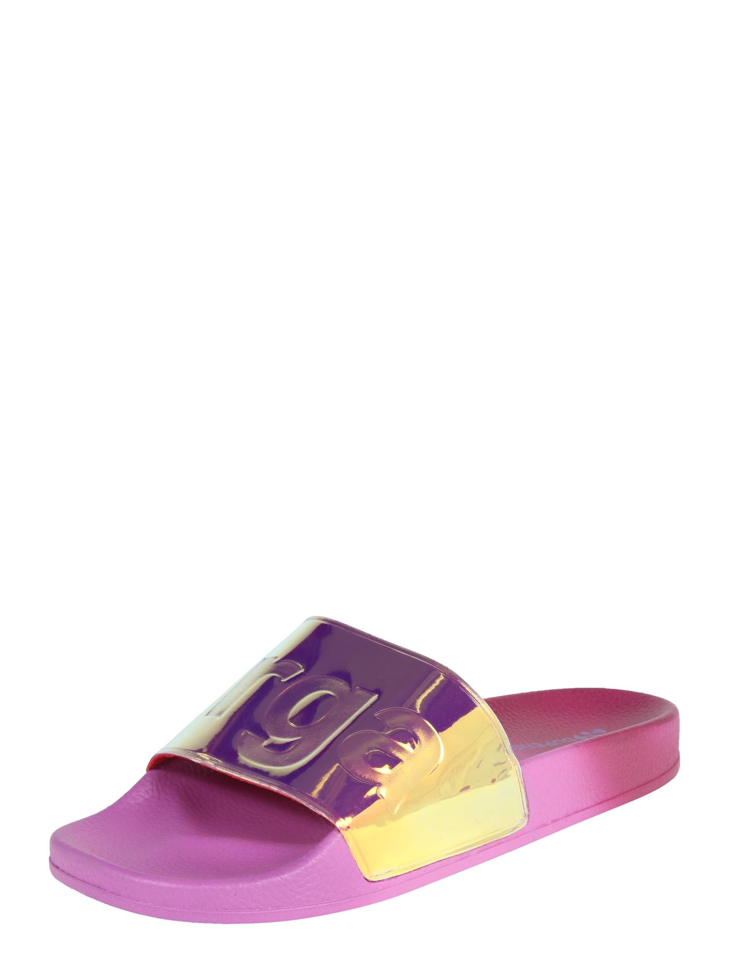 Pantofle 1908 fialová magenta SUPERGA
