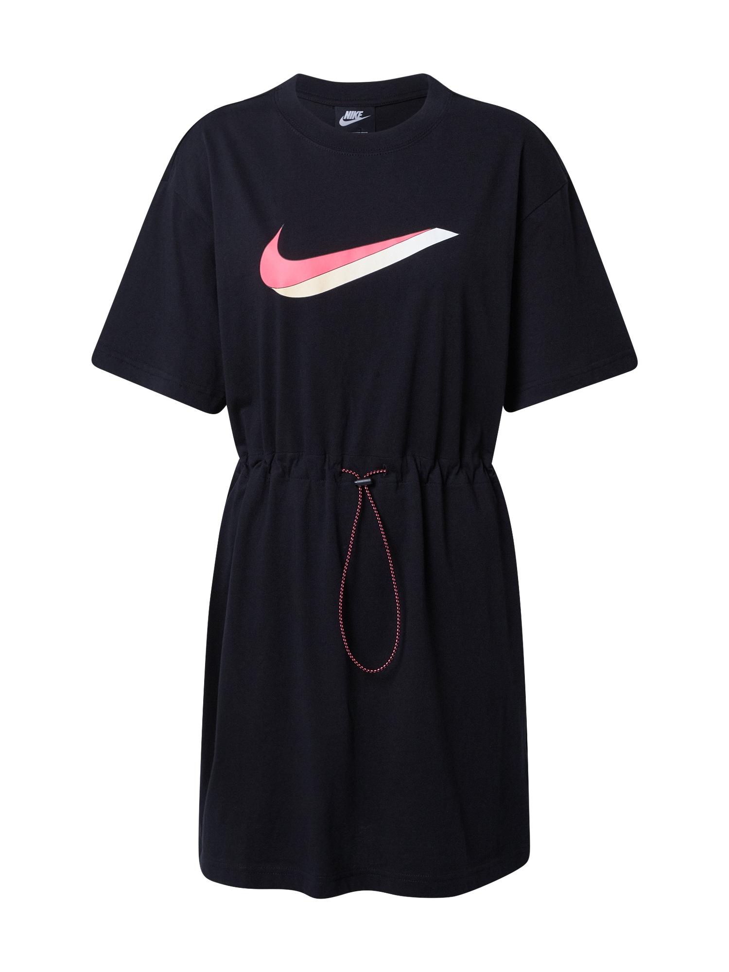 NIKE Laisva suknelė juoda
