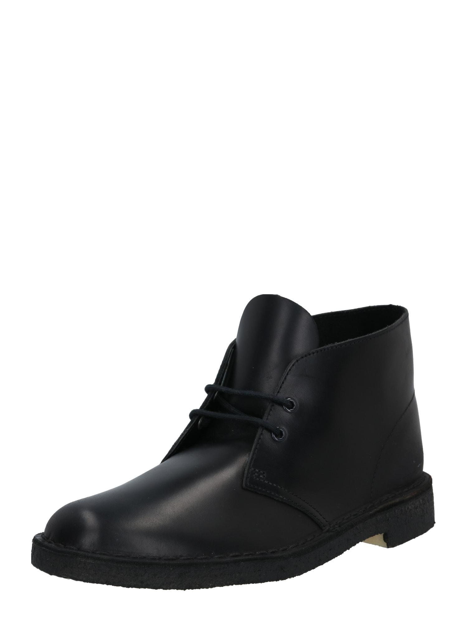 """Clarks Originals """"Chukka"""" batai juoda"""