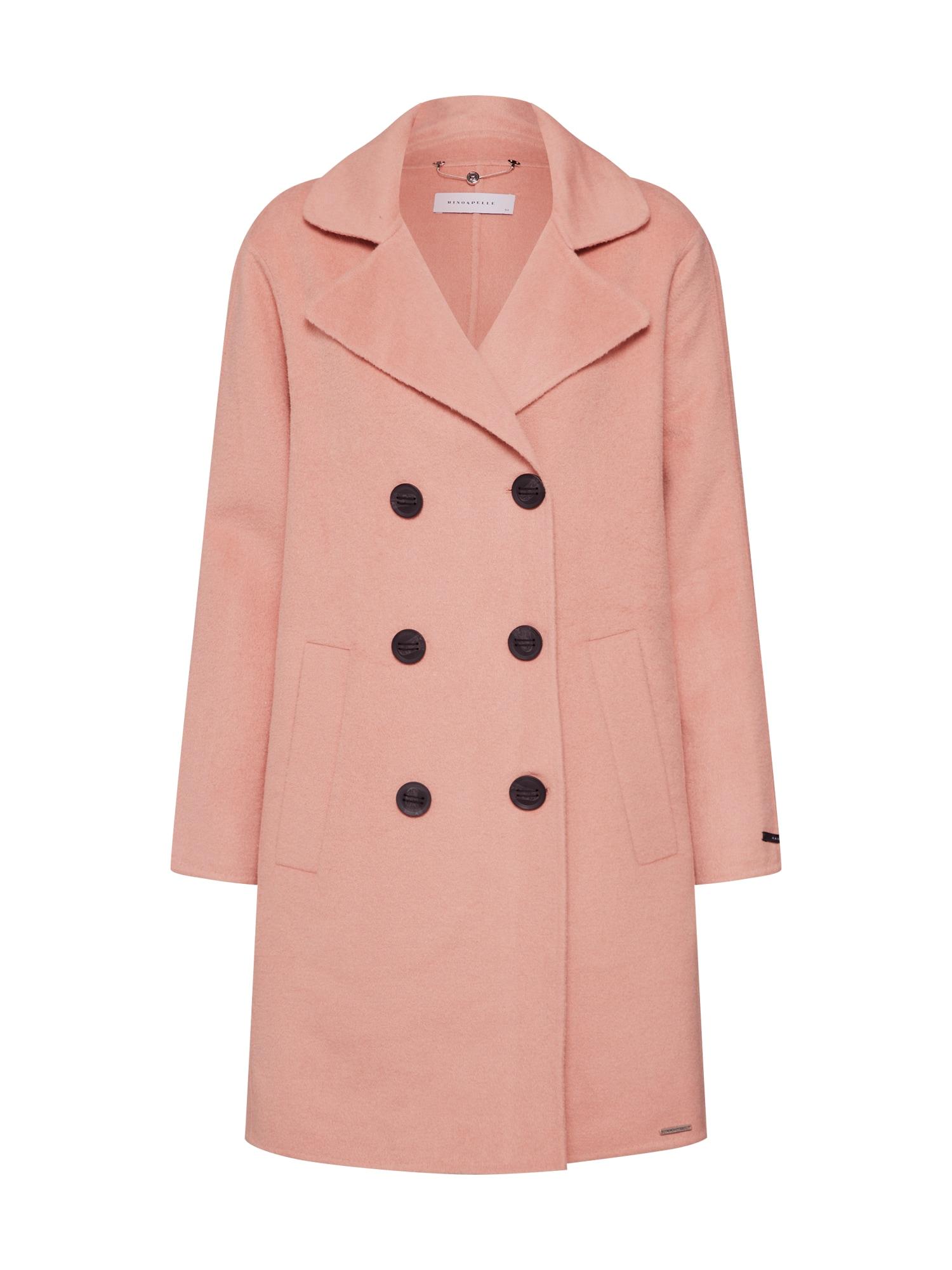 Přechodný kabát Eugenie pink RINO & PELLE