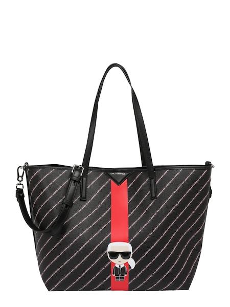 Shopper - Shopper 'k stripe ikonik tote' › Karl Lagerfeld › schwarz  - Onlineshop ABOUT YOU