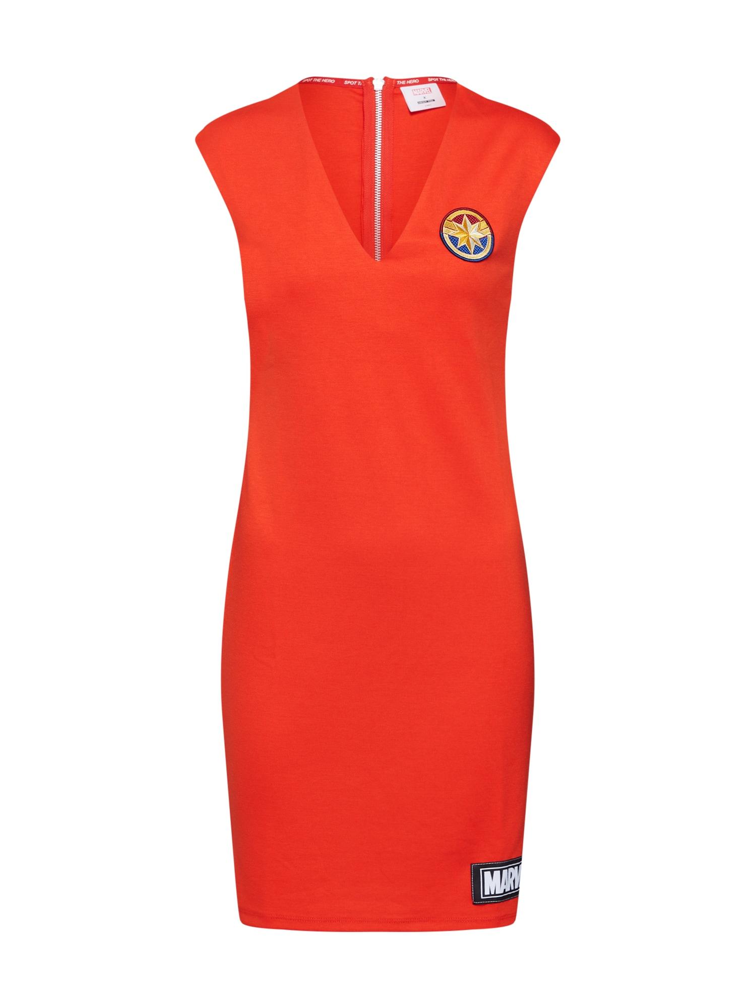 Šaty Anne červená MARVEL X ABOUT YOU