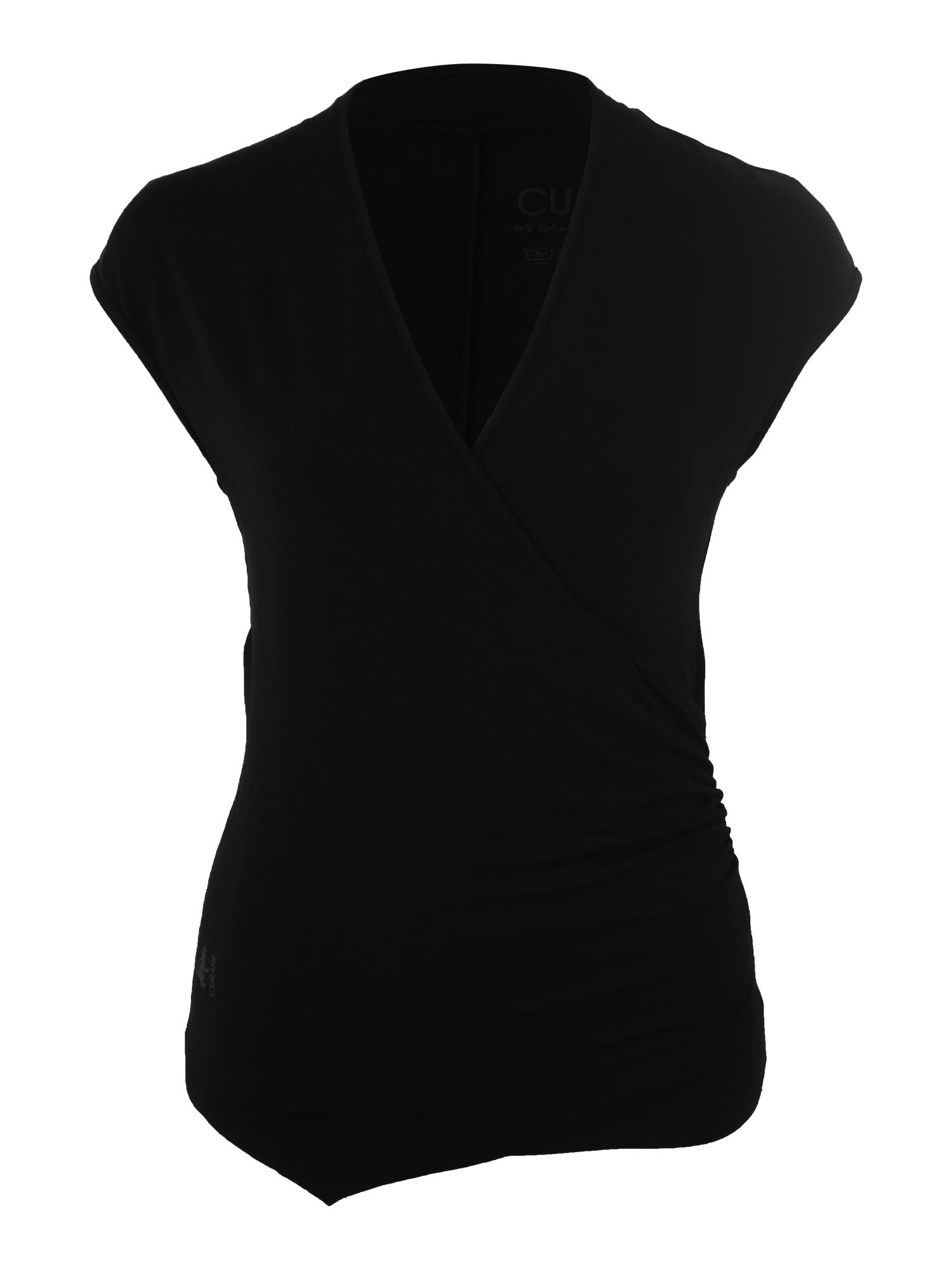 Sportovní top Wickeltop černá CURARE Yogawear