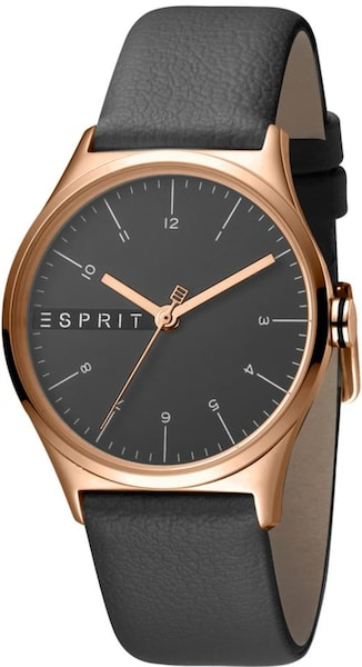 Uhren für Frauen - ESPRIT Quarzuhr rosegold anthrazit  - Onlineshop ABOUT YOU