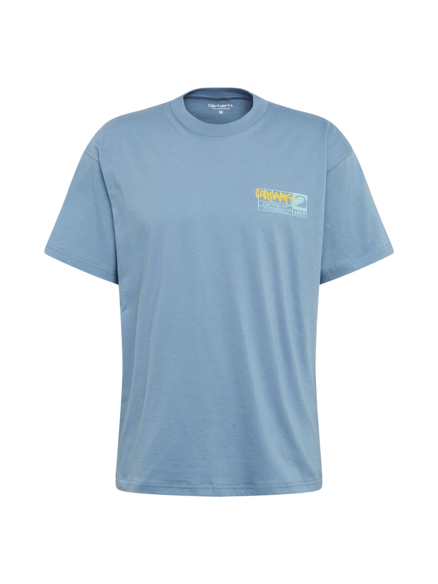 Carhartt WIP Marškinėliai 'No Surf' mėlyna dūmų spalva