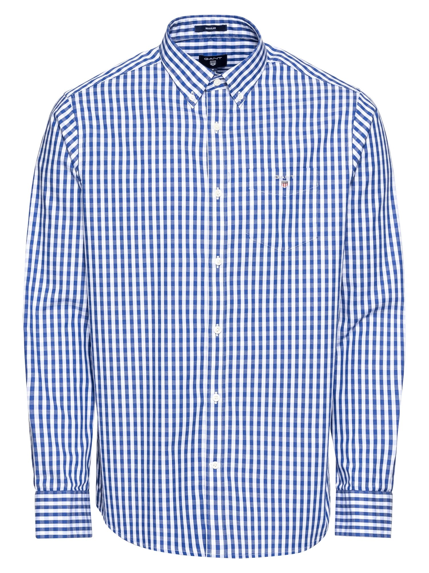 Košile 80's PPO Check modrá bílá GANT